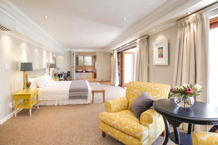 Banhoek Lodge - slaapkamer