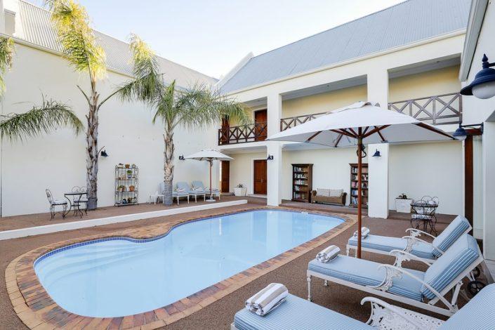 Banhoek Lodge - zwembad