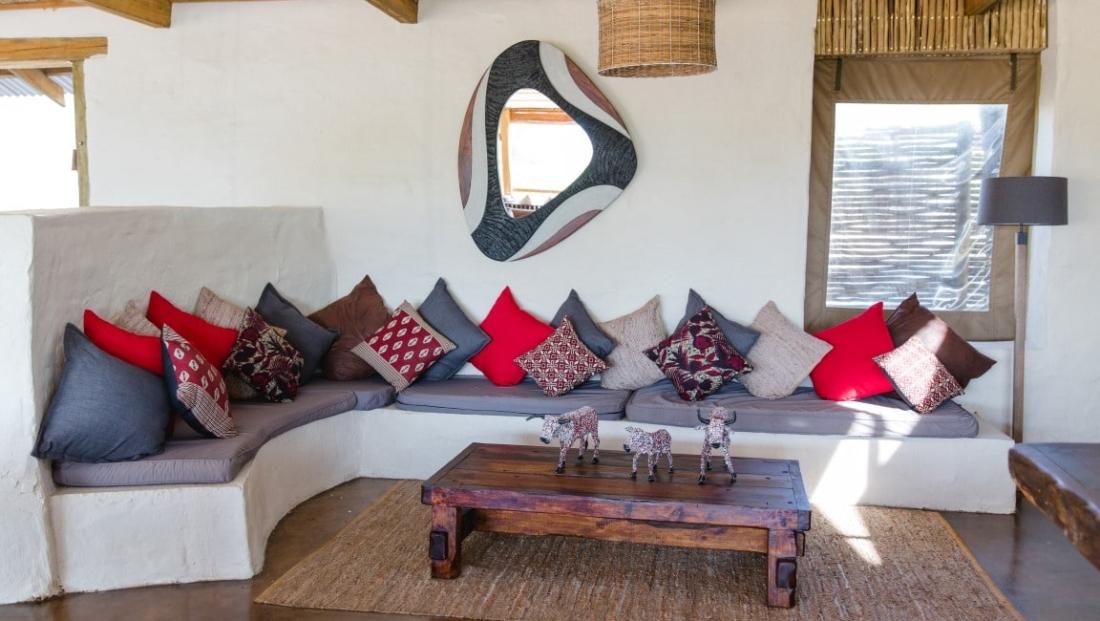 Chobe Elephant Camp - Lounge