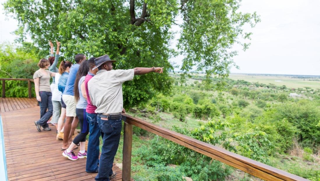 Chobe Elephant Camp - Uitzicht vanaf het terras