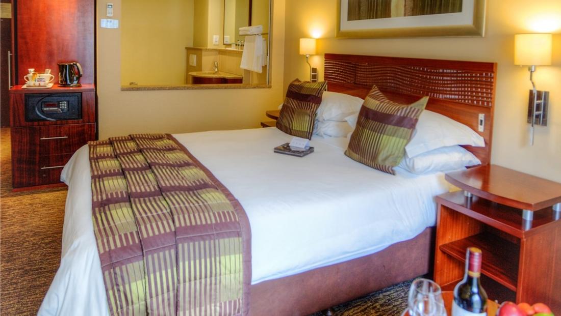 City Lodge OR Tambo- hotelkamer