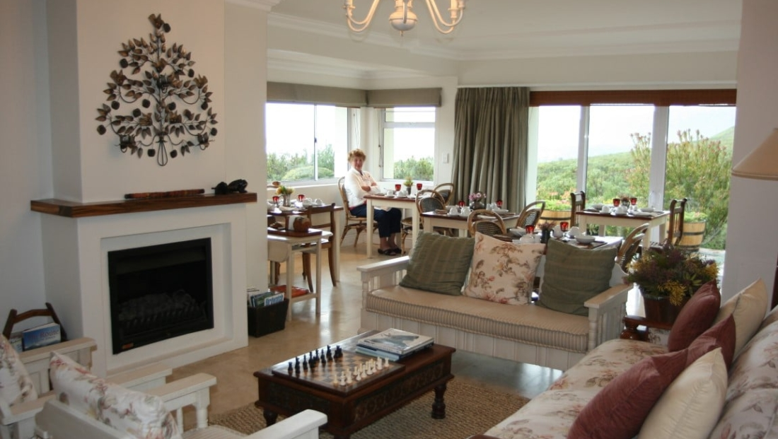 Francolinhof - lounge - ontbijtruimte