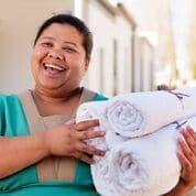Galenia Estate - schone handdoeken