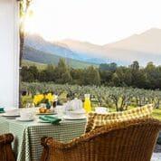 Galenia Estate - gedekte tafel