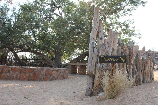 Madisa Camp - keuken kampeerplaats
