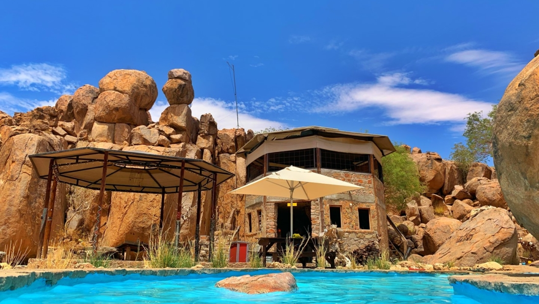 Madisa Camp - zwembad