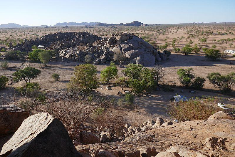 Madisa Camp - landschap