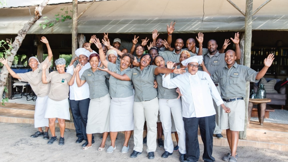 Sango Safari Camp - Vriendelijk en enthousiast personeel