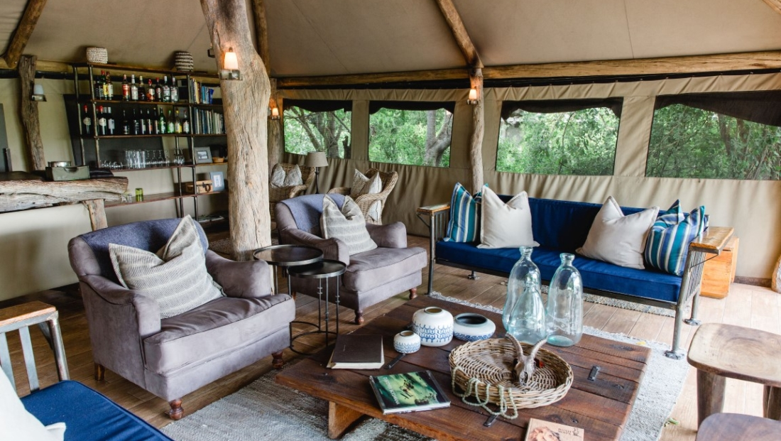 Sango Safari Camp - Lounge