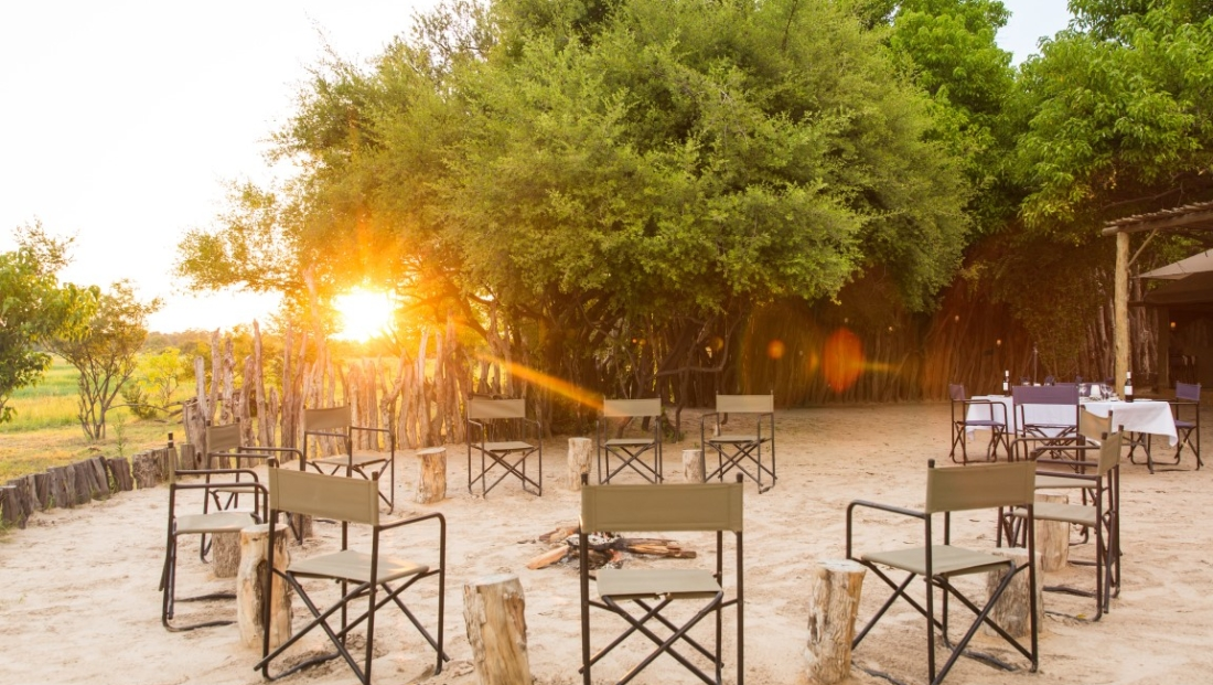 Sango Safari Camp - Boma bij daglicht