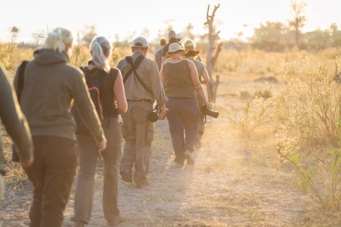 """Rondreizen Botswana: """"Drukte"""" in Botswana van ca. juni tot oktober."""