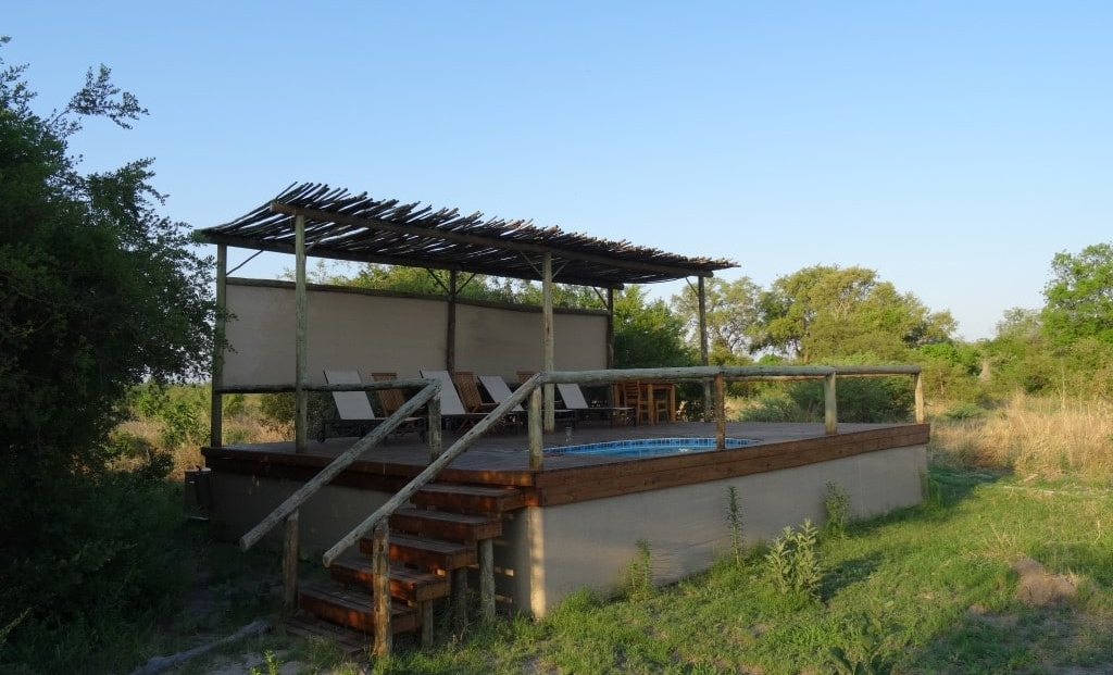 Sango Safari Camp - Klein zwembadje
