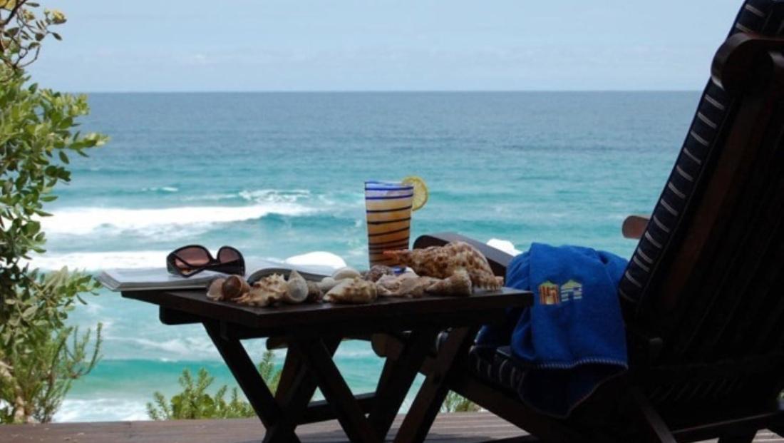 Dune Beach House - uitzicht op zee