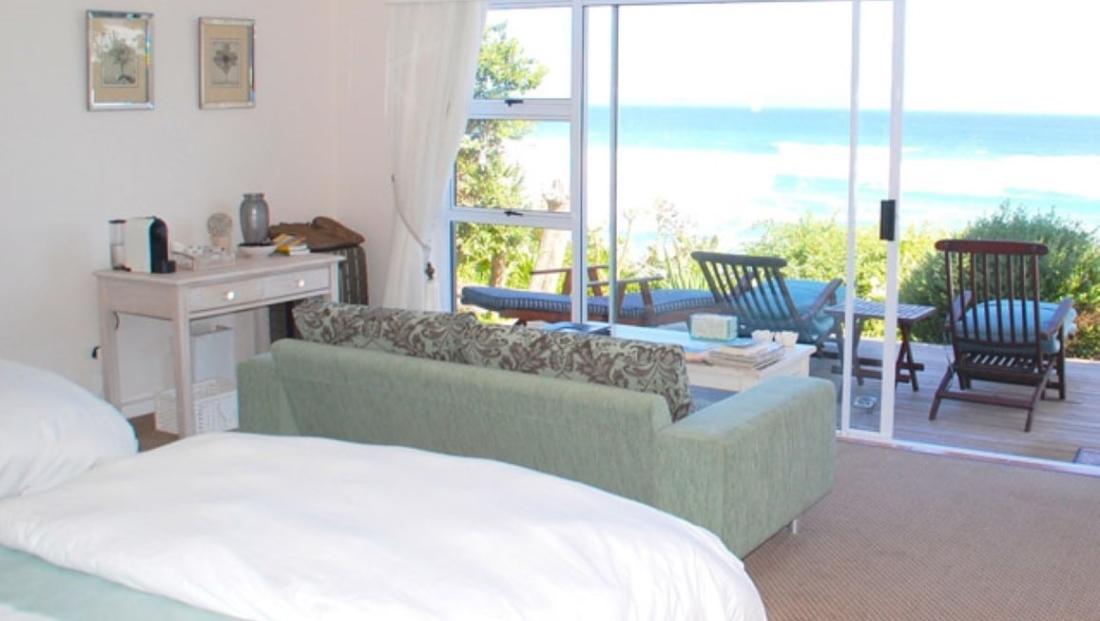 Dune Beach House - slaapkamer zeezicht