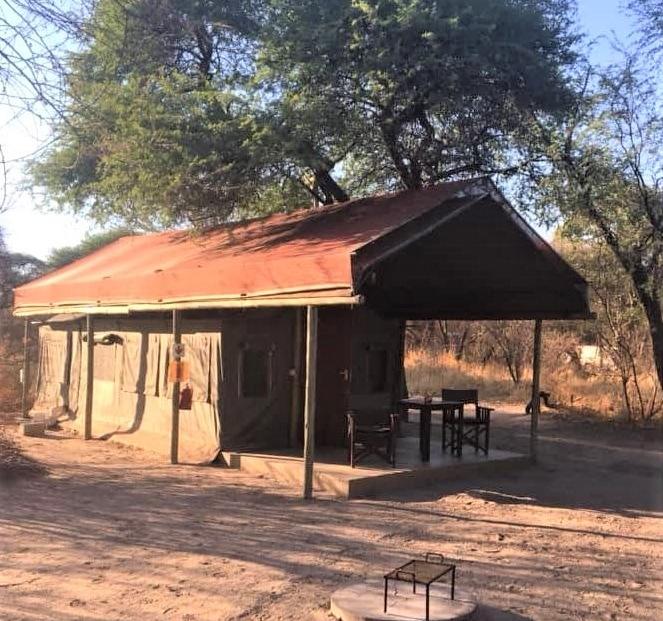 Tshima Bush Camp - En-suite safari tent