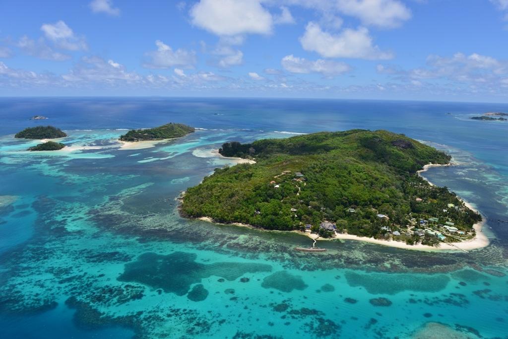 Cerf Island Resort - luchtfoto