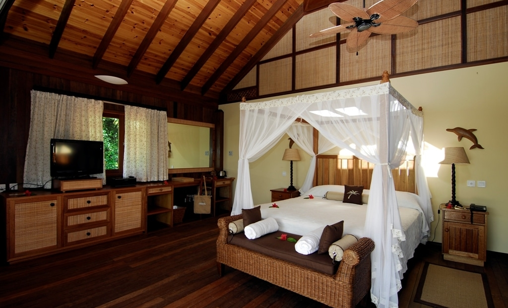 Cerf Island Resort - hotelkamer