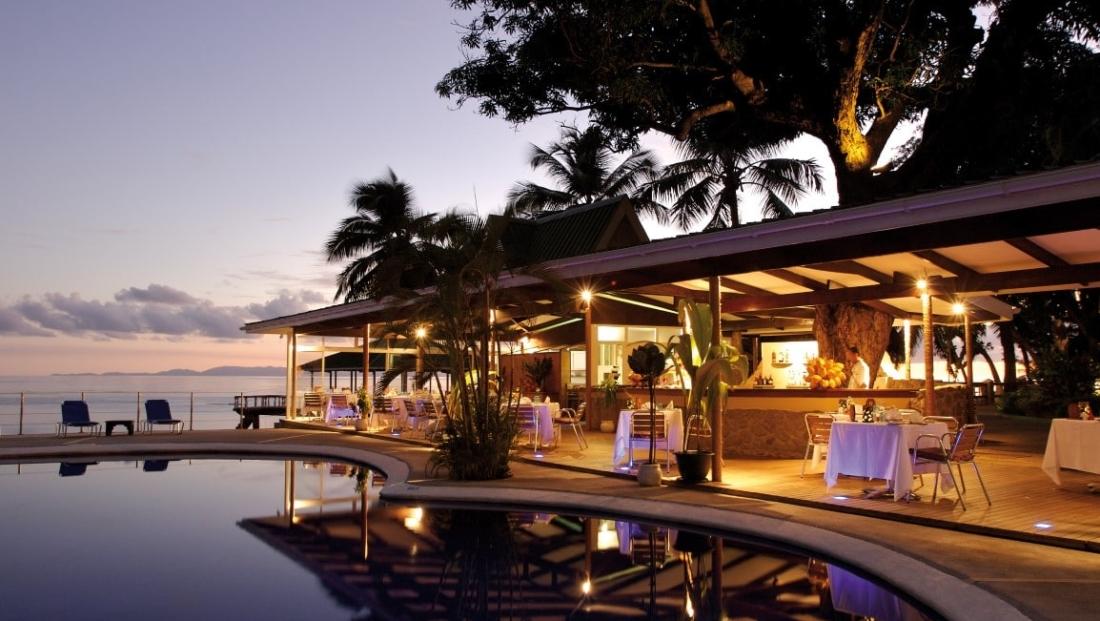 Coco de Mer - restaurant bij het zwembad