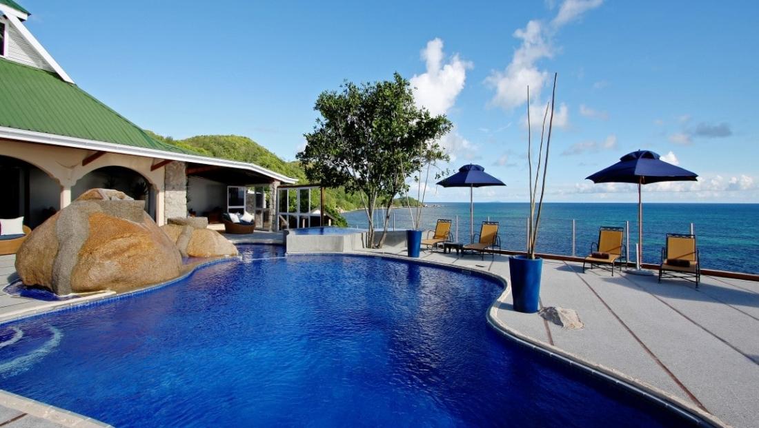 Coco de Mer - zwembad