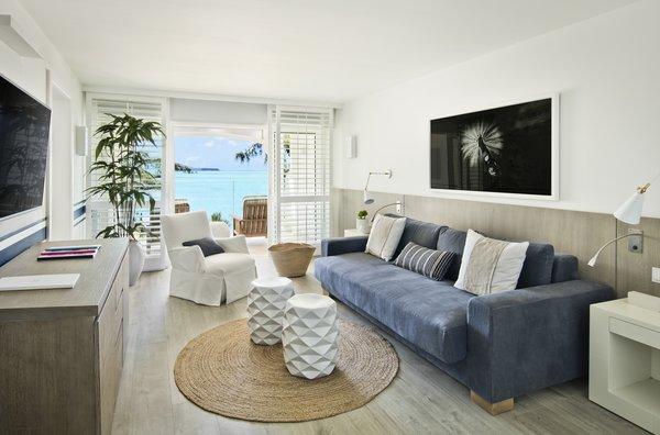 Lux Grand Gaube - Lounge met balkon