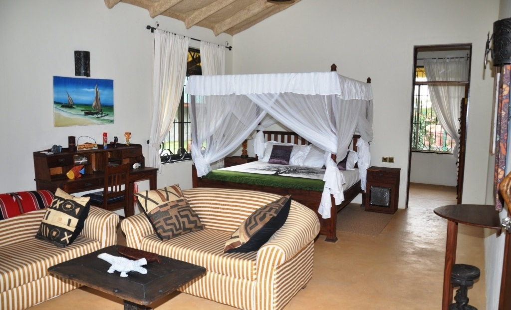Serengeti on the Lake - slaapkamer