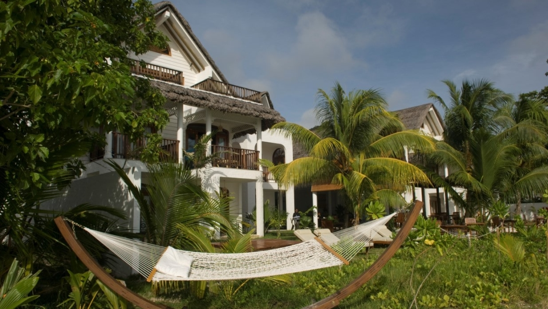 Villa du Pecheur - hangmat in tuin