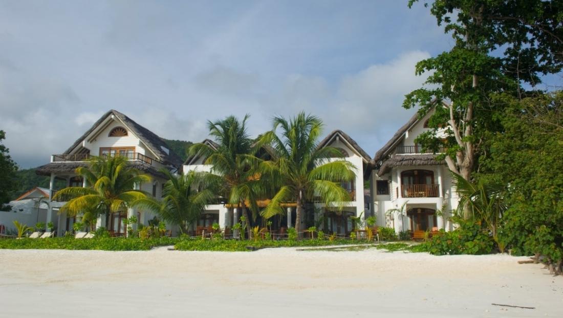 Villa du Pecheur - vanaf het strand