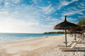 Palmar Beach - Strand met ligbedden