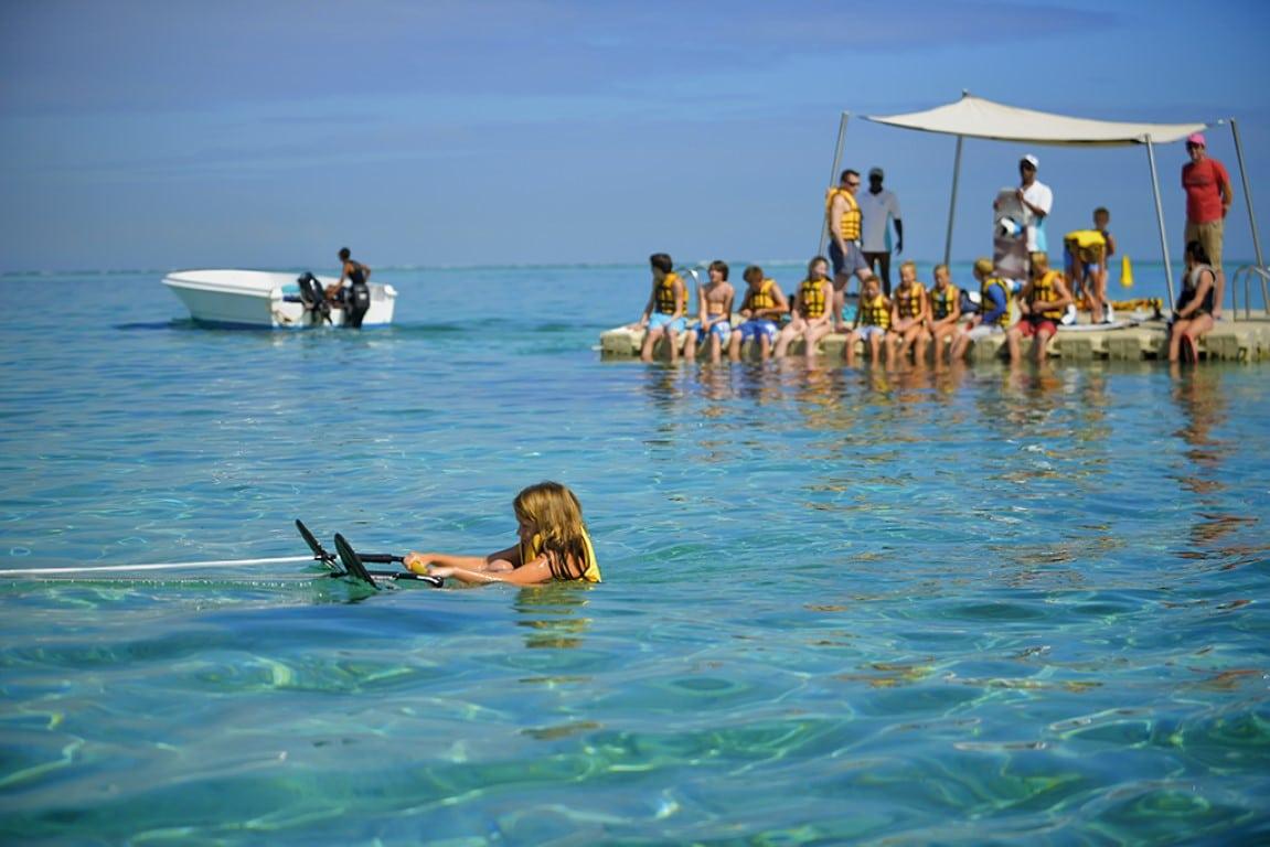 Rondreizen vakantie Mauritius - Watersporten voor kinderen