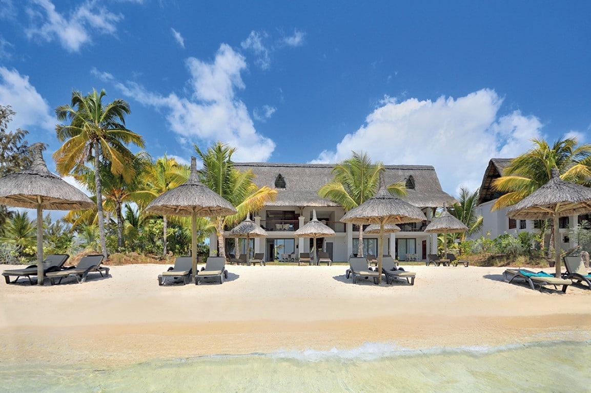 Huweljksreizen Afrika - Hotel Mauritius direct aan het strand