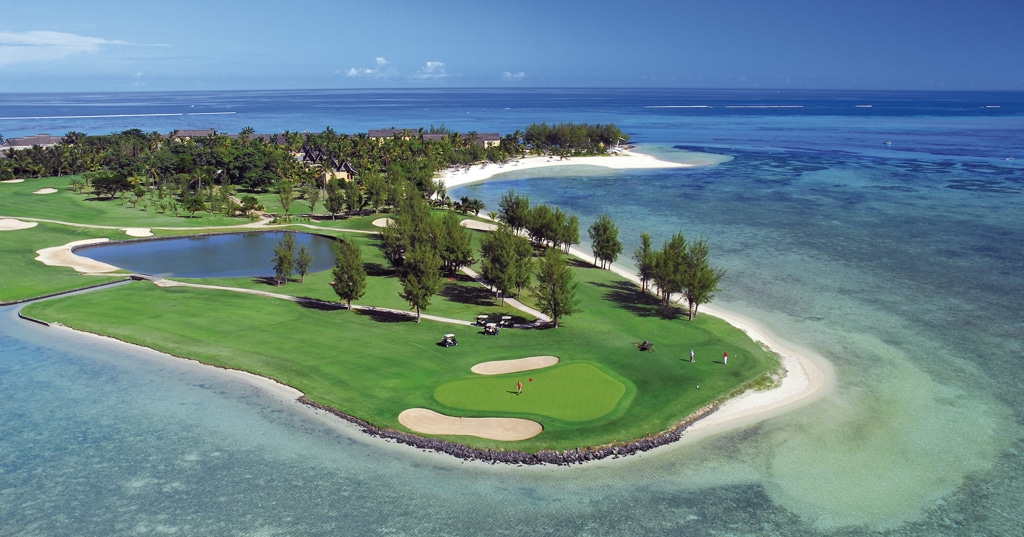 Luxe reizen Afrika - Golfbaan Mauritius