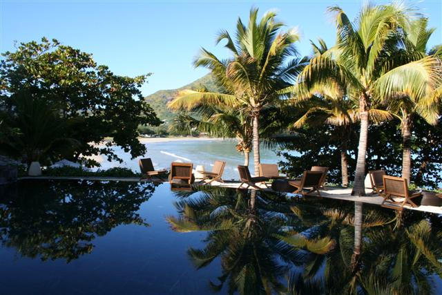 Tamarina - Zwembad met uitzicht op zee