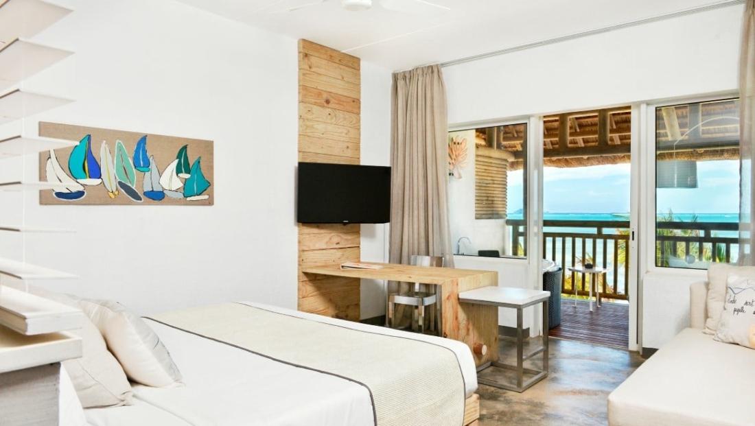 Zilwa Attitude - Slaapkamer met balkon