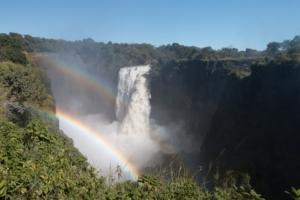 Olmo van Herwaarden - Regenbogen bij Victoria Waterval