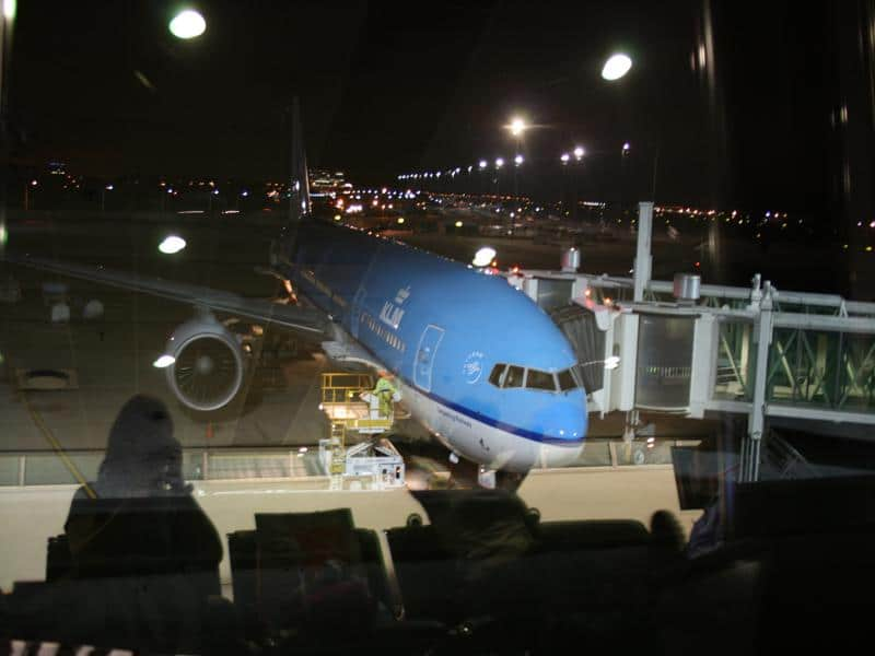 Newsflash - terugvliegen met KLM vanaf Johannesburg vanaf andere terminal