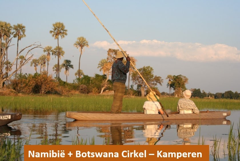 Voorbeelreis Namibie botswana vaste accommodatie - Out in Africa
