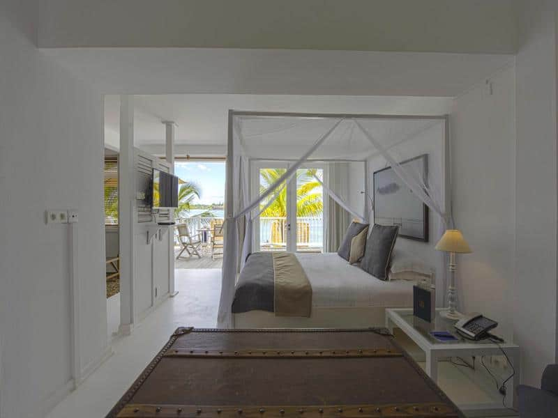 20 Degrees Sud - Slaapkamer met mooi uitzicht