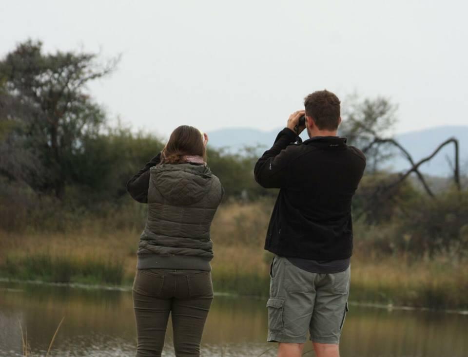 Rangercursussen: De alarmroep van vogels wijst soms op de aanwezigheid van grotere dieren.