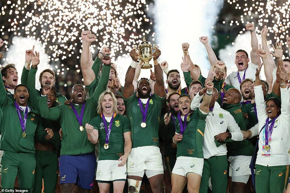 Nieuwsbrief Out in Africa - Springboks Wereldkampioen, team 2019