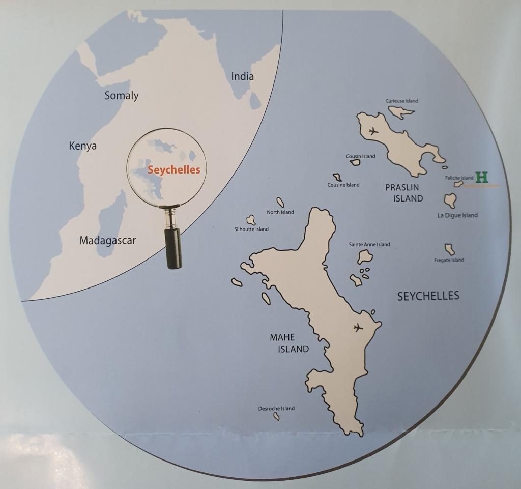 Op vakantie naar de Seychellen, dit zijn de mogelijkheden - Kaart Seychellen, Afrika