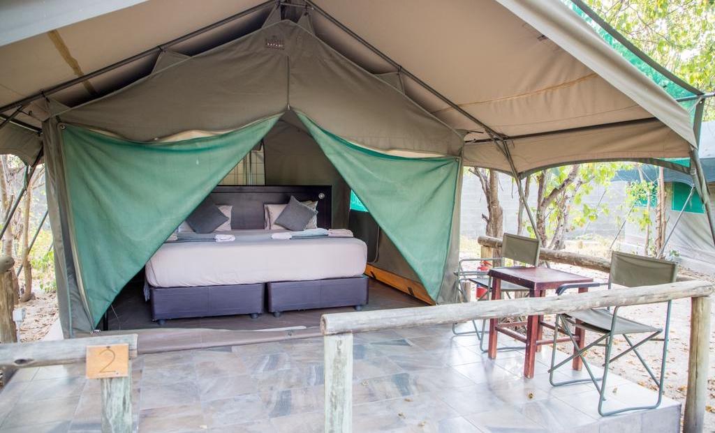 Mochaba Crossing - En-suite safari tent met eigen terrasje