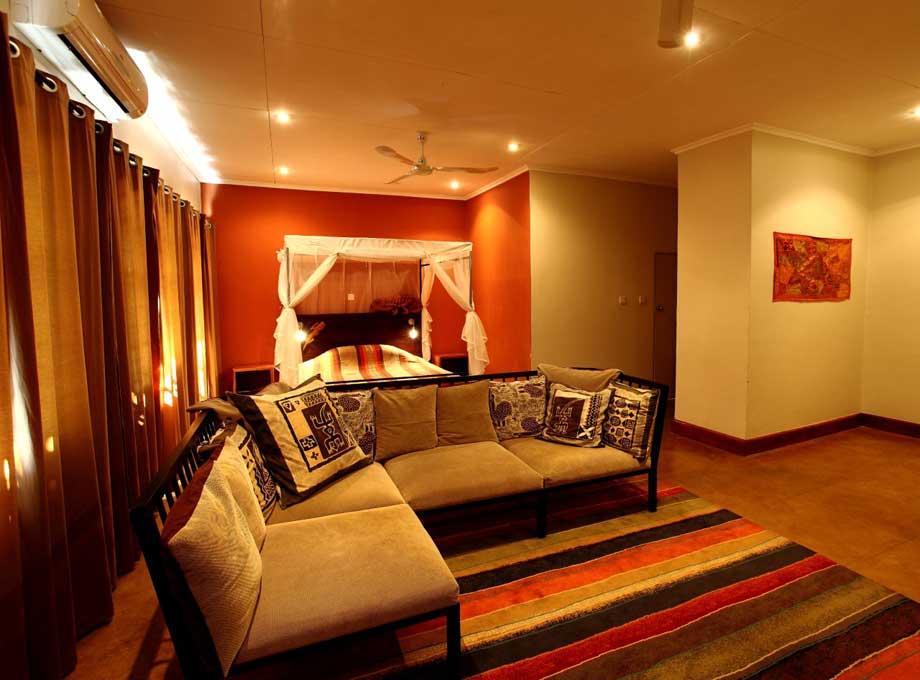 Africa House - Slaapkamer