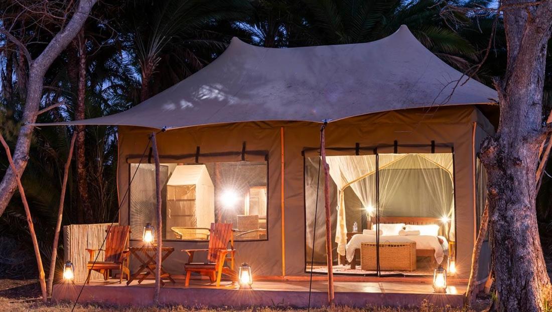 Busanga Plains Camp - tent