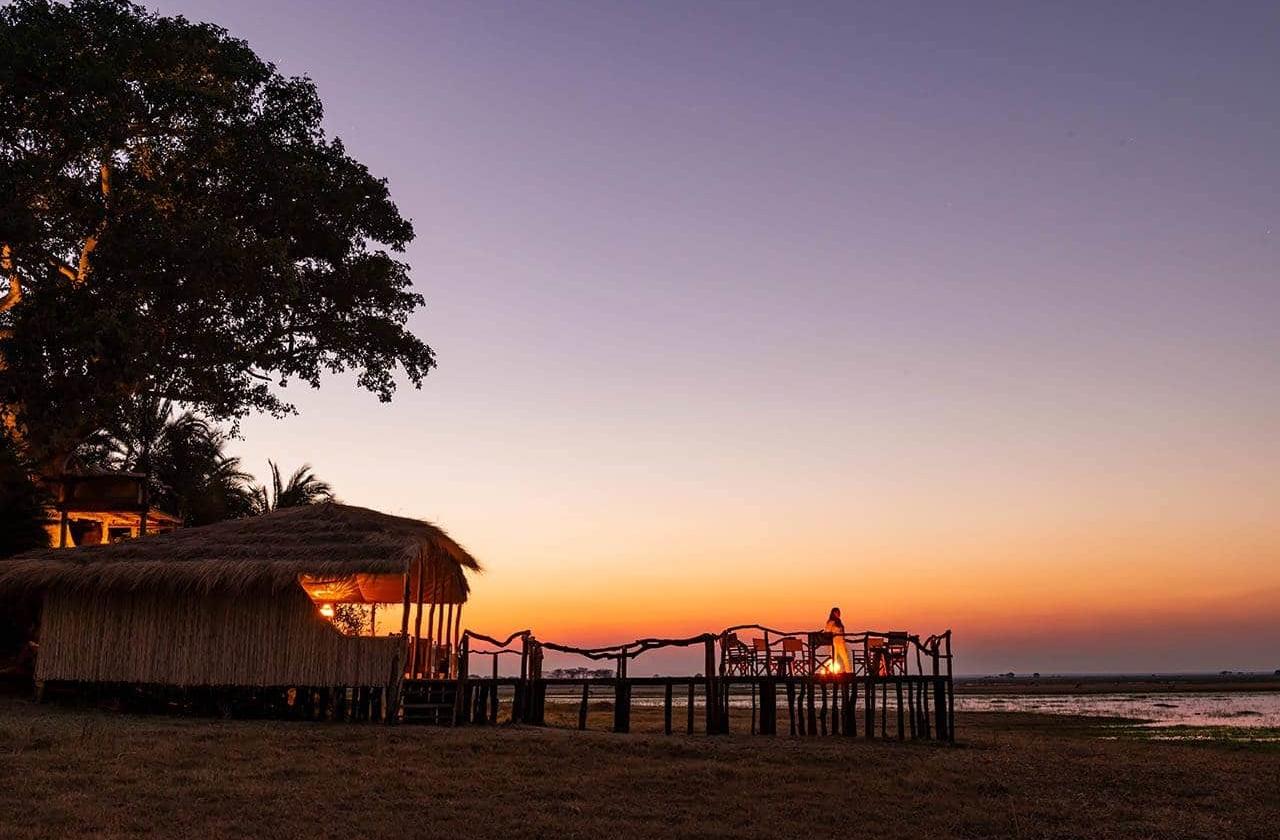 Busanga Plains Camp - boma