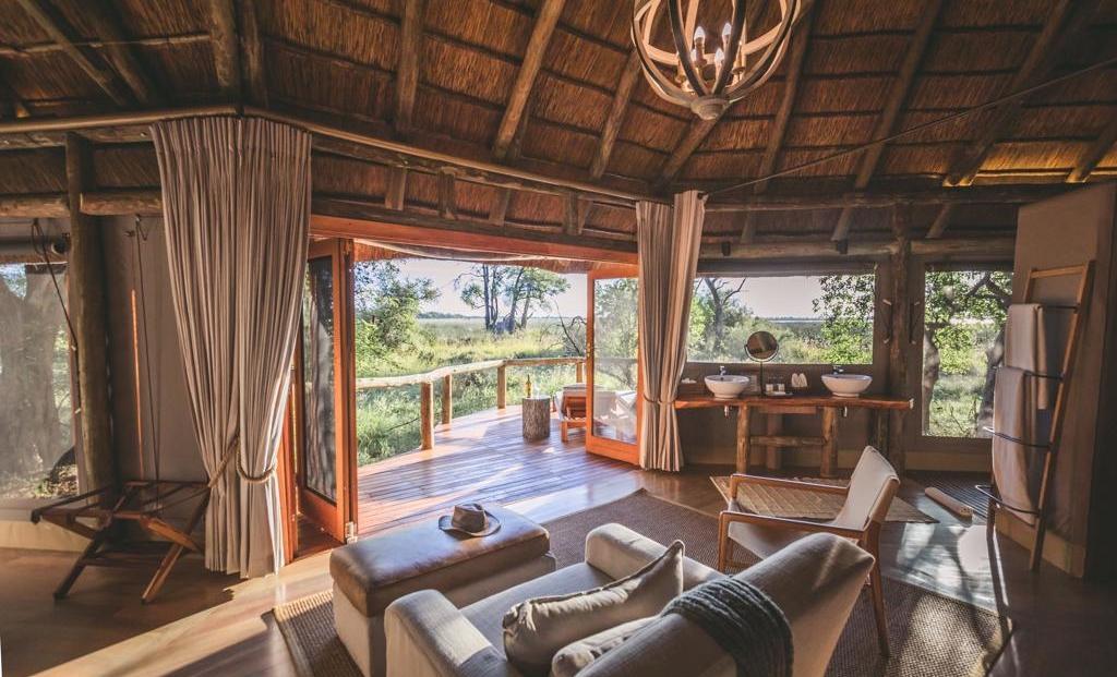 Camp Moremi - En-suite kamers met eigen terras