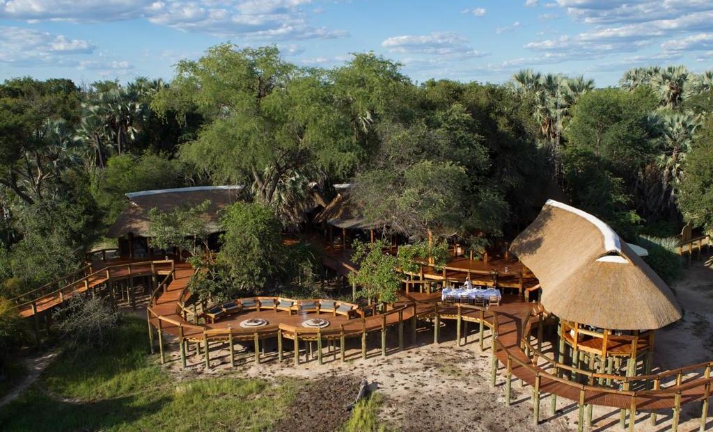 Camp Okavango - Luchtfoto van het kamp