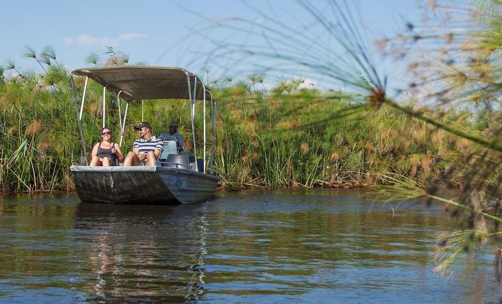 Camp Okavango - Boottocht door de delta