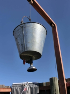 Kalahari - Bucket shower, emmer douche