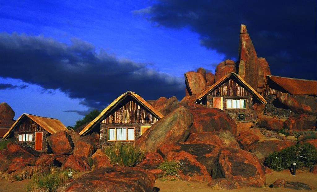Canyon Lodge - Kamers in de rotsen