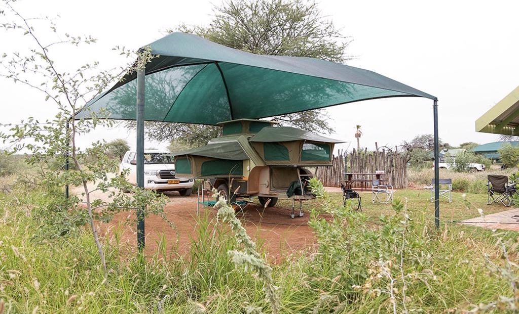 Erindi Camp Elephant - Overdekte kampeerplek